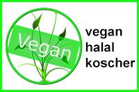 vegan, halal, koscha